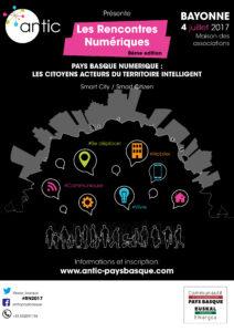 Affiche Rencontres Numériques 2017