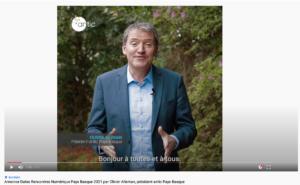 Olivier Alleman, président antic Pays Basque, annonce Dates Rencontres Numérique Pays Basque 2021