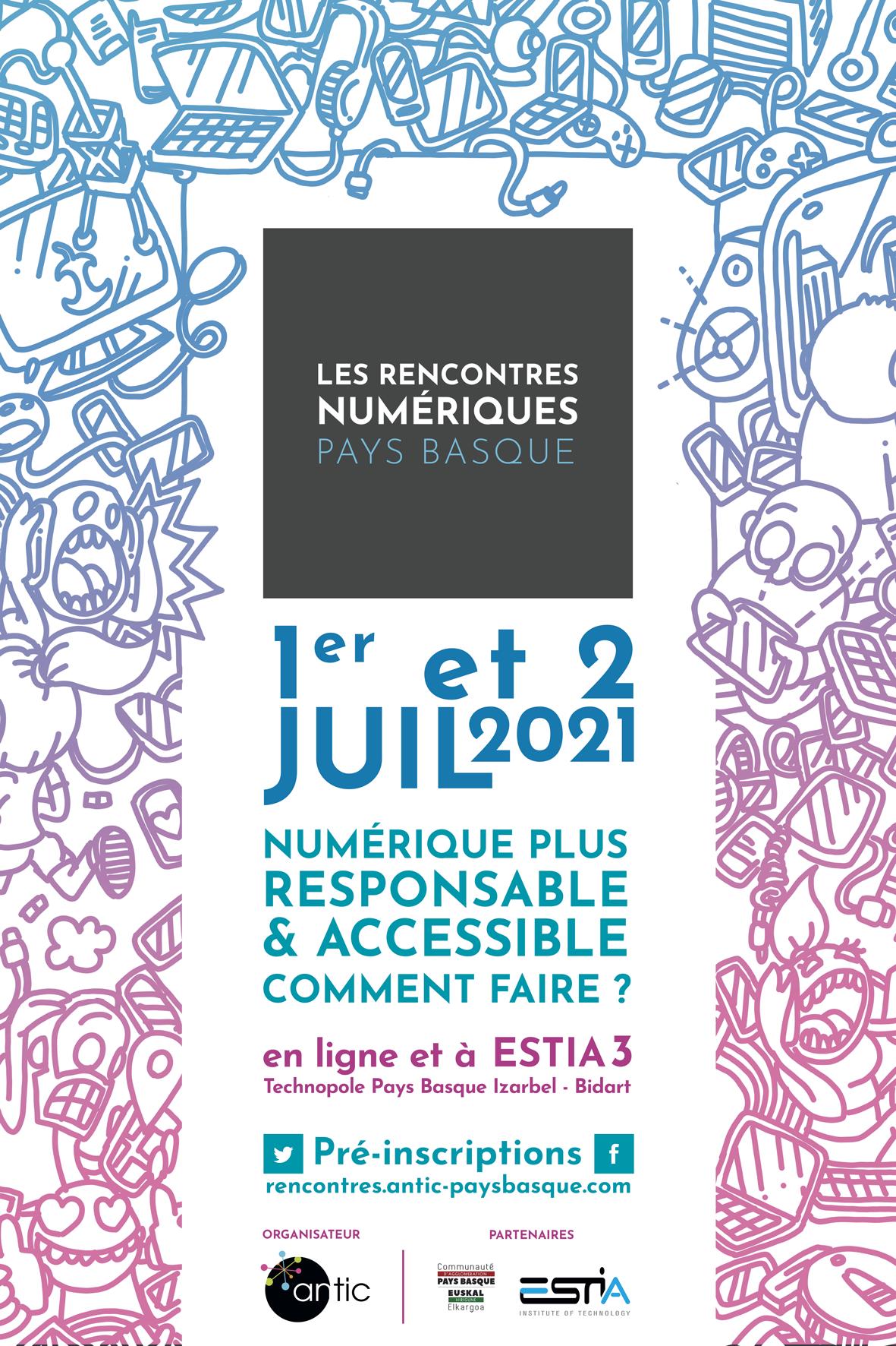 Cette année, les Rencontres Numériques Pays Basque : 1er
